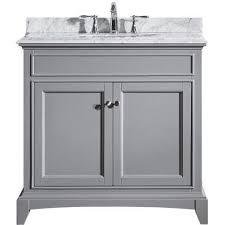 solid wood bathroom cabinet eviva elite stamford 36 gray solid wood bathroom vanity set