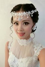 generic korean bridal headdress flower marriage