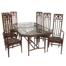 Dining Table And Six Chairs Art Nouveau Style Dining Table And Six Chairs At 1stdibs