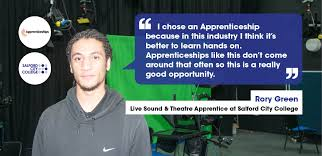 be an apprentice salford city
