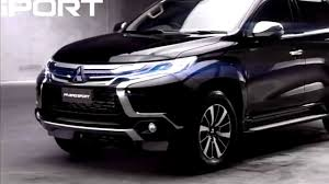 mitsubishi pajero sport 2018 pajero sport 2018 review youtube