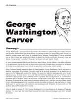 biography george washington carver george washington carver teachervision