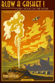classic art deco national parks imagery inspires posters