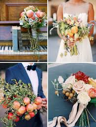 Bridesmaid Bouquets Alternative Wedding Bouquets Non Floral Bridal Bouquets