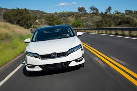 is 2017 honda clarity hydrogen powered car the future of green