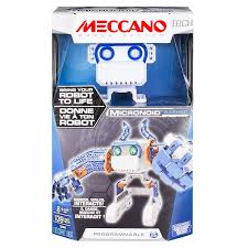 amazon com meccano micronoid blue basher toys u0026 games