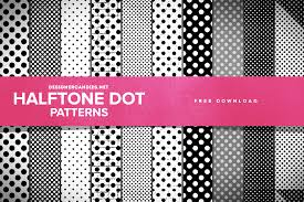 pattern from image photoshop free halftone dot patterns for photoshop designercandies