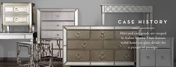 Bedroom Furniture Dresser Mirrored Furniture Mirrored Dressers Tables Z Gallerie