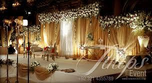 grand wedding stage decoration 11569
