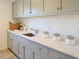 gray and blue laundry rooms design ideas