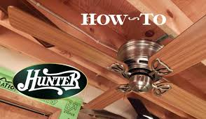 Low Height Ceiling Fan by How To Install A Ceiling Fan Hunter Low Profile Iii Youtube