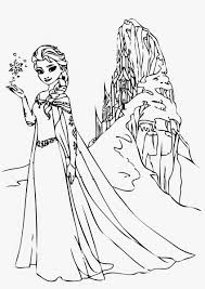 frozen elsa coloring pages funny coloring