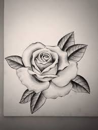 rose tattoo outline danielhuscroft com