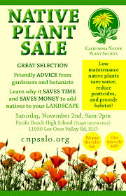 minnesota native plant society native plant sale cnps slo