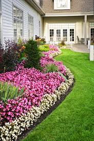 image of front house landscaping ideas colonial affordable to save