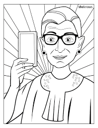 celebrate notorious rbg u0027s birthday printable
