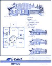palm coast south adams homes adam homes floor plans crtable