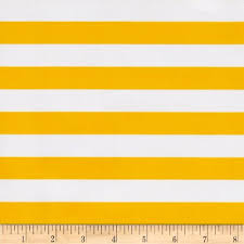 oil cloth stripes yellow fabric by the yard vinyls yellow