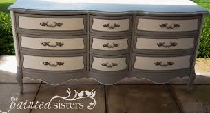 Painting French Provincial Bedroom Furniture by The Painted Sisters U2014 Unique Painted Furniture And Accessories