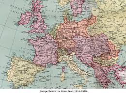 Europe Before 1914 Map by Clpgs Concert No 4 The City Of London Phonograph And