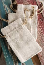 linen favor bags favor bags 3x5 drawstring 12 bags