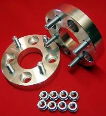 mustang 4 to 5 lug adapters 1 billet wheels spacers ford mustang 4 lug machined 1 2x20