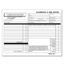 Auto Detailer Resume Auto Repair Invoice Template 7 Auto Repair Invoice Template