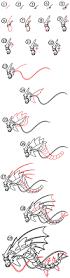 thanksgiving drawings step by step how to draw mega gyarados pokemon art for kids hub