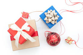 presents and decorations stock images image 35703494