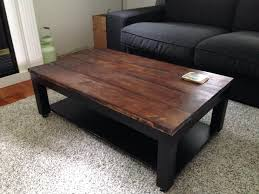 arkelstorp coffee table black ikea solid wood is a durable natural