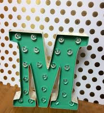 Home Decor Letters Metal 10
