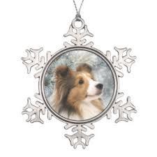 sheltie ornaments keepsake ornaments zazzle