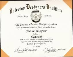 interior design awesome interior design certification programs
