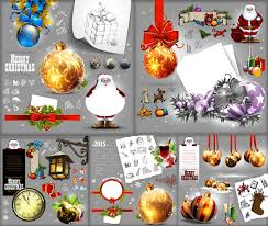 santa claus christmas theme vector christmas free vector free download