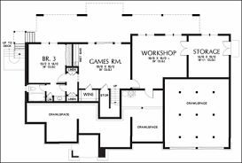 2 Bedroom Floor Plans With Basement One Story Floor Plans With Basements