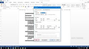 cara membuat garis pada daftar isi makalah cara membuat daftar isi dengan titik titik untuk laporan prakerin