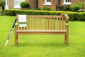 windsor teak garden bench 3 seater 1 5m sloane u0026 sons