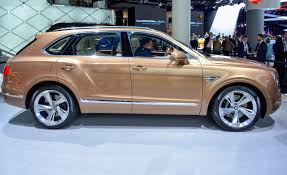 black and gold bentley 2017 bentley bentayga photos and info u2013 news u2013 car and driver