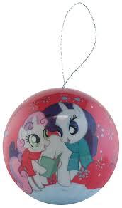 amazon com my little pony christmas holiday ornaments pack set