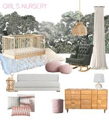 a baby u0027s blush and green nursery emily henderson