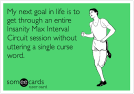 Insanity Workout Meme - day 40 think deeper insanity workout log