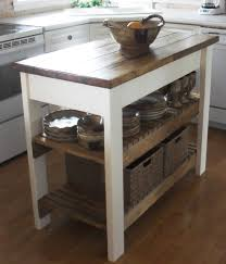 how to build kitchen island a kitchen island on wheels 30 rustic diy kitchen island