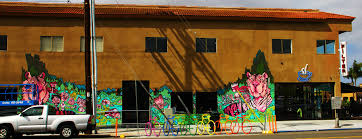 san diego street art tigers on the wall by cody griffith on the wall of filter cafe hillcrest san diego ca