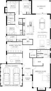 riviera single storey home design foundtion floor plan wa plan