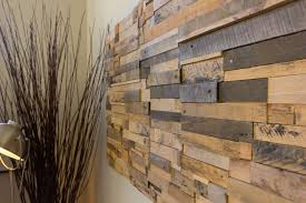 scrap wood wall contemporary living room with high ceiling by bill cherne zillow