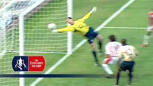 Fa David Seaman U0027s Incredible Fa Cup Save From The Archive Youtube