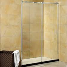shower door 60 w x 70 h clear glass door hobo