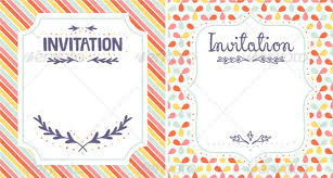 invitation templates by stolenpencil graphicriver