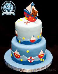 baby shower bear boat cake bearkery bakery