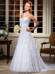 summer wedding dresses glamorous a line wedding dresses halter sleeveless white lace